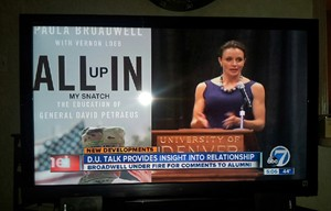 "ABC Denver misnamed the biography of former CIA director David Petraeus. The book is actually called ""All In."""